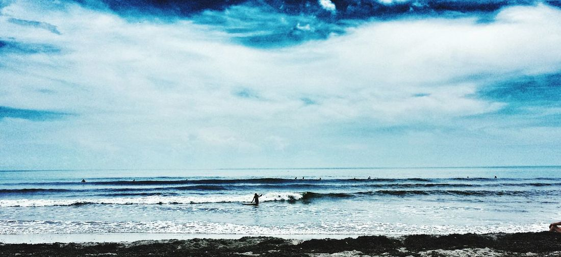 Capturing Movement No Location Needed Enjoying Life Check This Out Clouds And Sky Roughsea Surfing The Action Photographer - 2015 EyeEm Awards