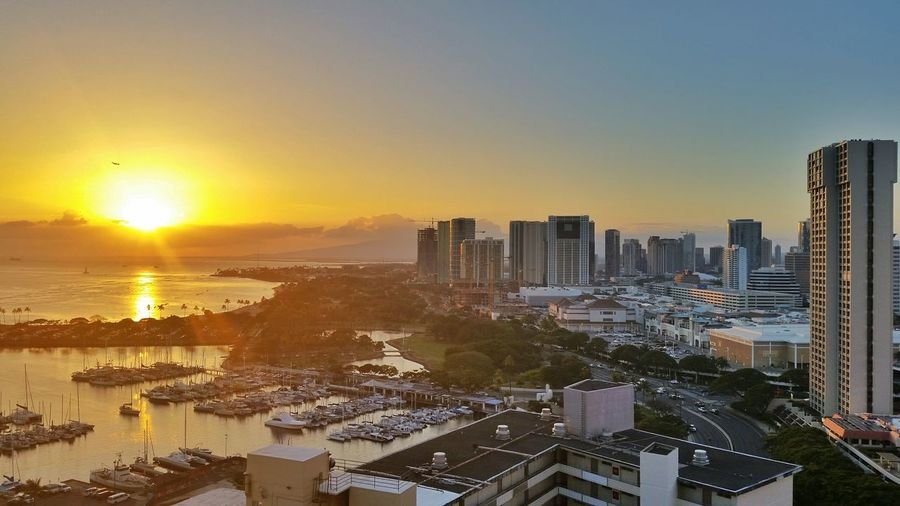 Vacation Hawaii Oahu Travel Photography Waikiki Solo Traveler! Check This Out Sunset