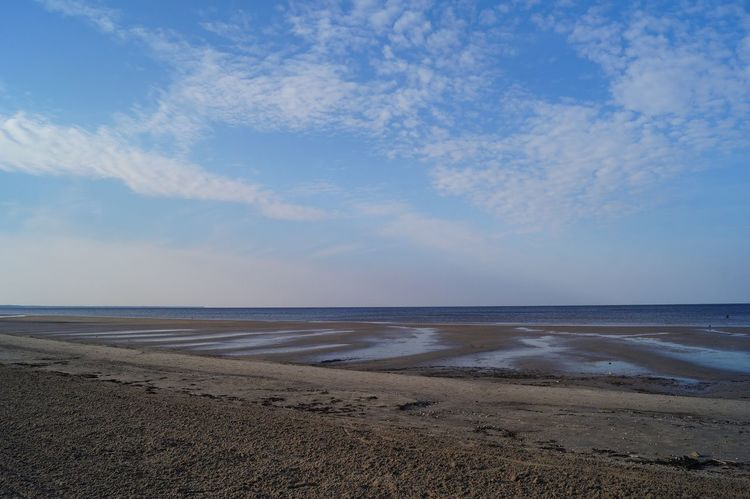 Jurmala JurmalaBeach No People Outdoors Sky Horizon Over Water Beauty In Nature Sand Nature Sea Water Beach