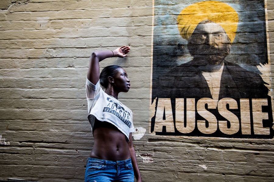 Elz... there still have some racism issues in Australia Architecture Art And Craft Aussie Casual Clothing Day Fashion Photography Front View Human Arm Leisure Activity Lifestyles One Person Outdoors Real People Representation Standing Text Waist Up Wall Wall - Building Feature Western Script Women Young Adult The Portraitist - 2018 EyeEm Awards The Fashion Photographer - 2018 EyeEm Awards The Week On EyeEm Editor's Picks