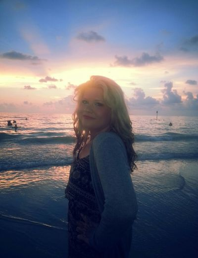 I miss the beach Sunset Nature Beauty Beach Summer Me