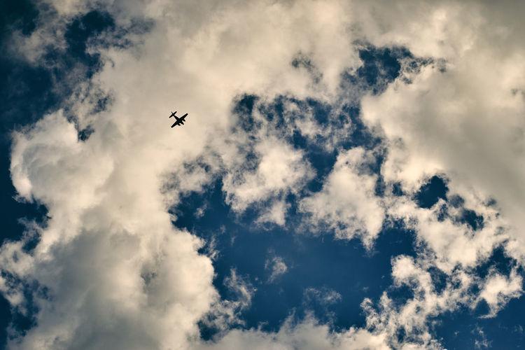 Tiny plane in
