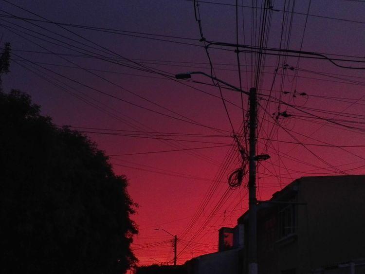 Asombroso cielo Self Perspective Walker Pleasure Sunset Electricity  Multi Colored Dramatic Sky