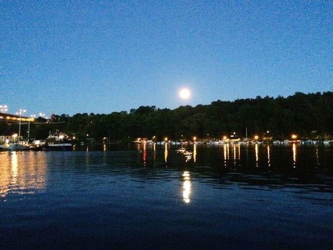 Skanstull Stockholm Moon Moonlight Swedishmoments Enjoying Life