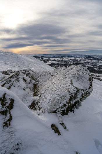 Scenes from Malvern after the early December 2017 snowfall. Britain Malvern Hills Snow ❄ Wintertime Beauty In Nature Cloud - Sky Cold Temperature Day Iceberg Landscape Nature No People Outdoors Scenics Sky Snow Snowfall Sunset Tranquil Scene Tranquility Uk Water Weather Winter Worcestershire