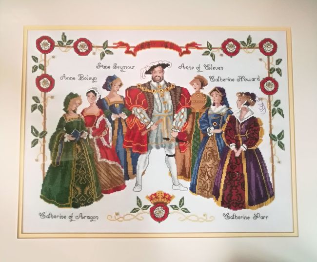 EyeEm Selects A famous founder and collector History King - Royal Person People Adult Handmade Art Handmade Picture Henry VIII Reformation Henry VIII And His 6 Wives