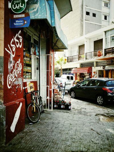 Casablanca - Maroc Urban Exploration Streephotography Colors Acid