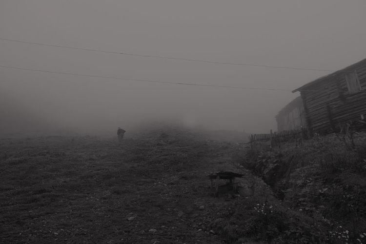 Sky Fog Nature