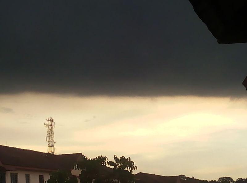 No Filter Scary Sky Skyviewers