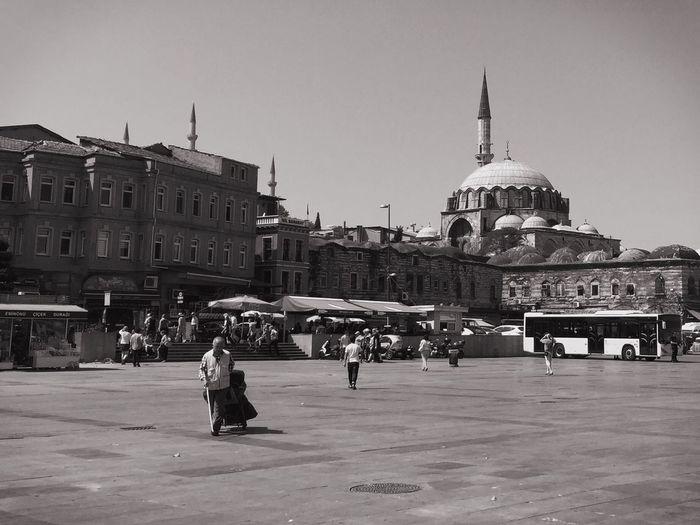 Facade of historical building