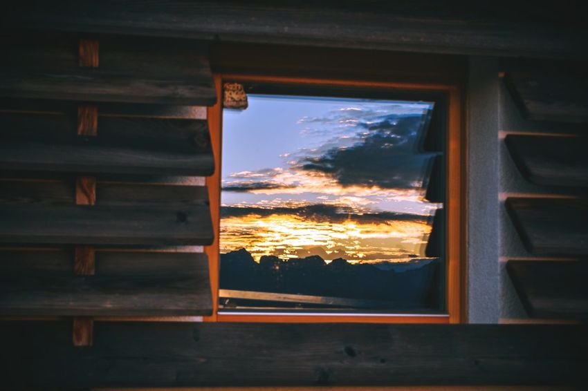 Window Indoors  No People Day Sky Close-up Architecture Light And Shadow Nikond3300 Travel Travel Destinations Scenics Outdoors Mountain Peak The Week On EyeEm Window Sill Frame Looking Through Window Glass - Material Rock Formation Tranquility Mountain Mountain Range Rock - Object Landscape