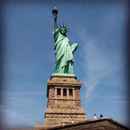 Statueofliberty Newyork Hollydays Summer August ? ???