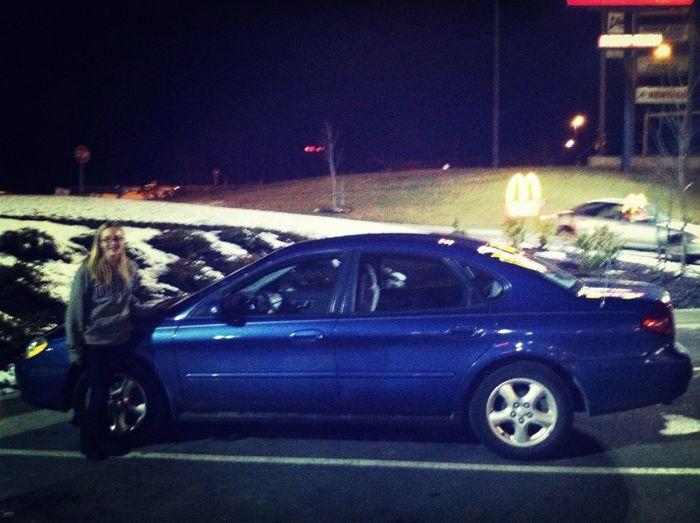 New car (: