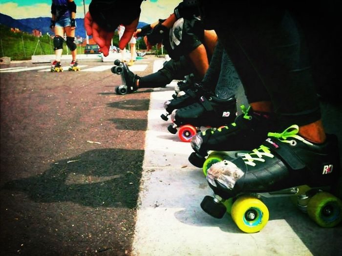 Detailsofmylife Rollerskating Rollerskates Rollerderbygirls rollerder