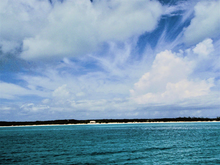 Mesmerizing Half Moon Cay Beauty In Nature Blue Sky Day Horizon Over Water Landscape Nature No People Sand Sea Sky Tranquility Water