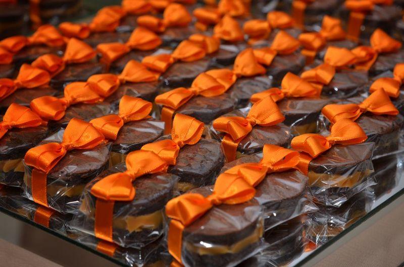 Close-up of orange food