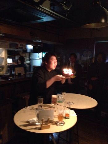 HappyBirthday 大森 Tokyo Japa