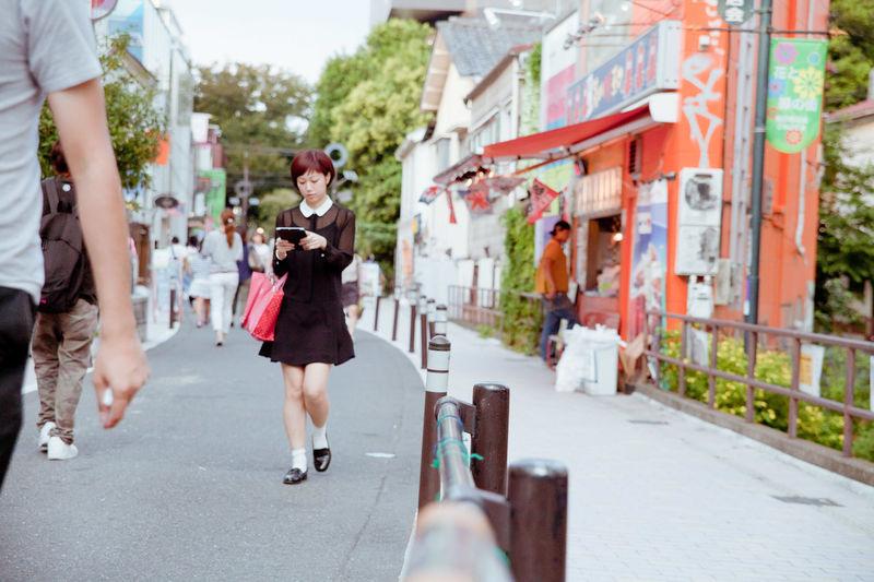 Fall fashion in Tokyo Tokyo Fashion Loafers Miniskirt Real Women Wear Black Fashion Forever