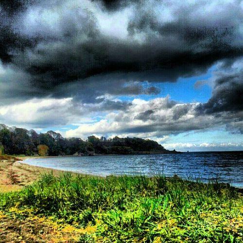 'Stormy' Ravenscraig Kirkcaldy Fife  Scotland Stormy Cloudporn skyporn Seascape Beach Scenery Water Igers Tagstagram picoftheday bestoftheday instahub instagrampolis instamob Primeshots