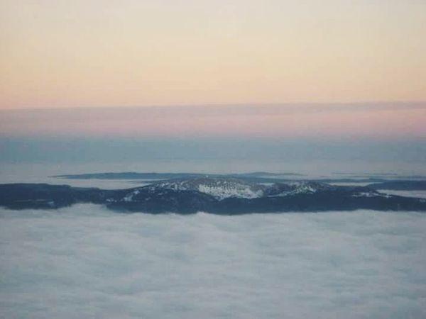 Cloud - Sky Nature Scenics Sea Sky Aerial View Sunset