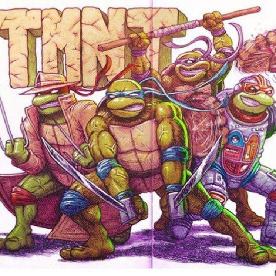 Turtlepower!!! Tmnt Art Mofucka YEAHBUDDY