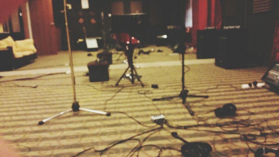 Recording Studio Cool Recording Session