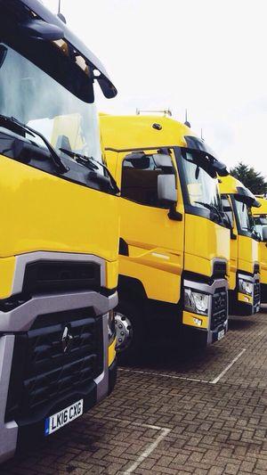Truck Transportation Yellow