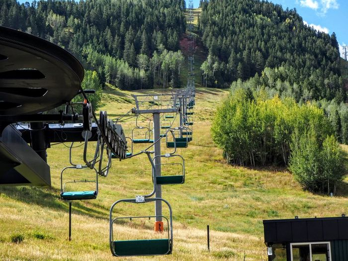 Landscape Outdoors No People Nature Ski Resort  Vacation Chair Lift Rocky Mountains Colorado Mountain Hike Blue Sky The Week On EyeEm Been There.