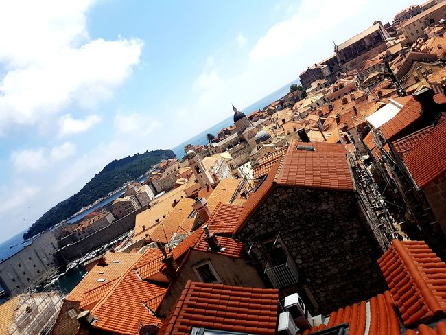 EyeEm Selects Outdoors Sky Day Summer Croatia Postcardscollections Galaxys7picture Postcardsfromcroatia City Built Structure Dubrovnik Old Town