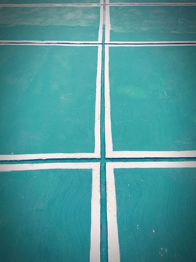 Square Pattern Backgrounds Full Frame High Angle View Close-up Parallel Dividing Line Geometric Shape Textured  Running Track Marking Square Shape