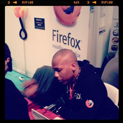 @chahrawoods représente Mozilla Tunisie