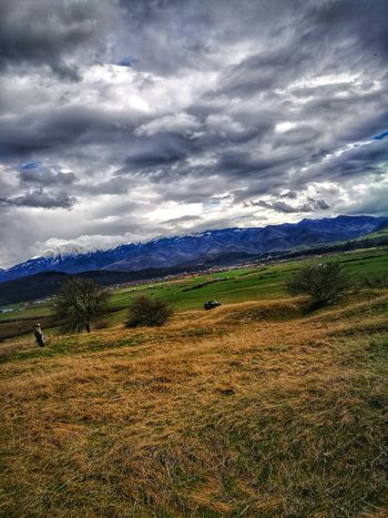 Sunny Day Mountain Clouds And Sky Snowcapped Mountain Mountain Rural Scene Storm Cloud Agriculture Field Dramatic Sky Sky Landscape Cloud - Sky Mountain Range Cultivated Land Terraced Field