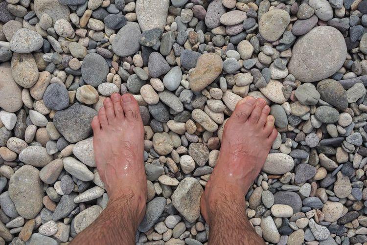 Barefoot Human