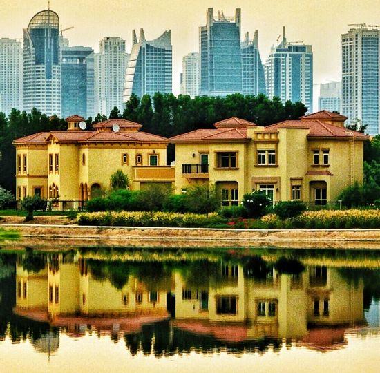 Reflection Dubai Nikon Eye4photography