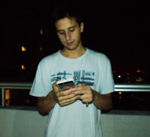 City Life City Night Lights Front View Illuminated Lifestyles Lofi Lofi Portrait Man Night Night Photography Nightlife Nightshot One Person Portrait Portrait Of A Friend Portrait Photography PortraitPhotography Real People Standing Technology Waist Up Young Adult Young Man