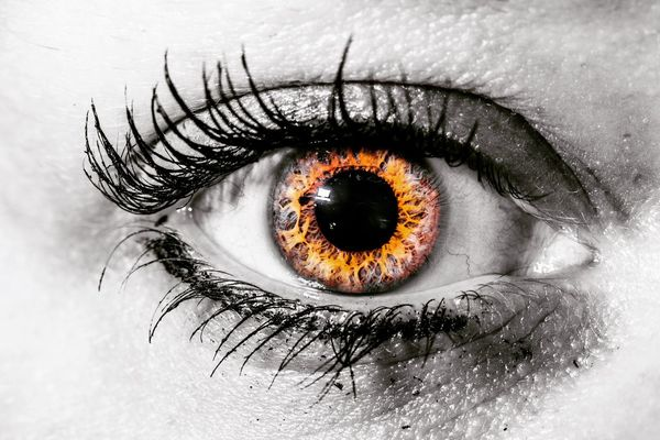 EyeEm Best Shots Macro_collection Macro Nikon Human Eye Human Body Part Eyelash Iris - Eye Eyeball Eyesight Close-up Sensory Perception One Person Looking At Camera Real People Portrait Day Outdoors People Adult