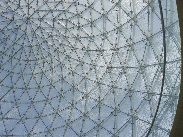Full frame shot of glass ceiling