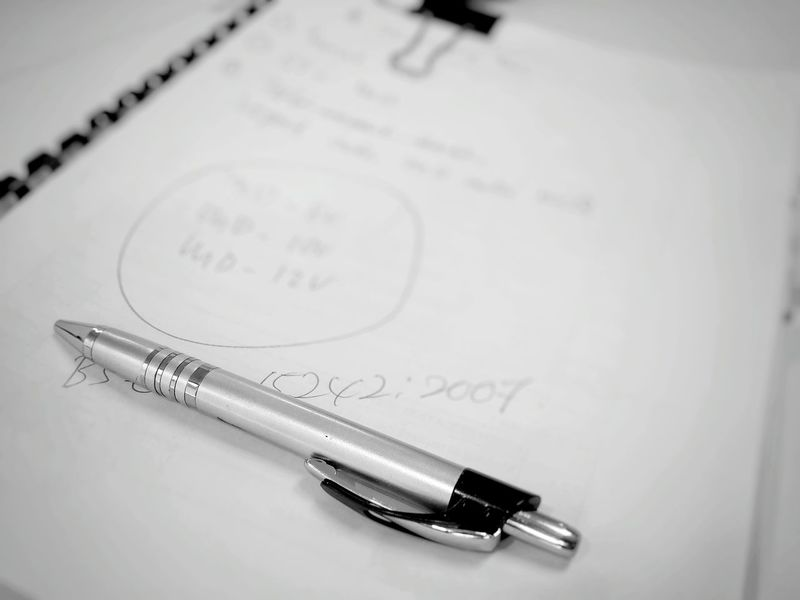 Pen My Handwriting :) Hand Writing Writing A Paper Working Time Paper Black And White Office Hours At The Office Samsungphotography