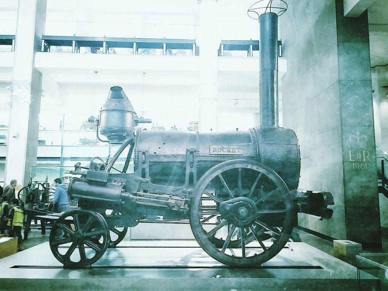 Stephenson's Rocket Science Museum London Stephensons Rocket Science Train History