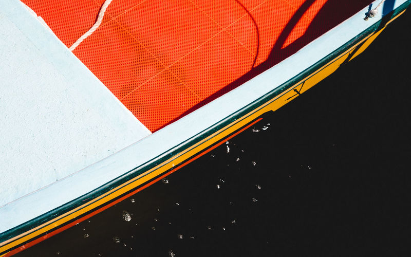 Abstract Abstract Photography Abstractart Beach Blue Boat Close-up Colorful Colors Cropped Culture Day Life Low Angle View Modern Multi Colored No People Orange Outdoors Part Of Red Sky Tilt Travel Travel Photography