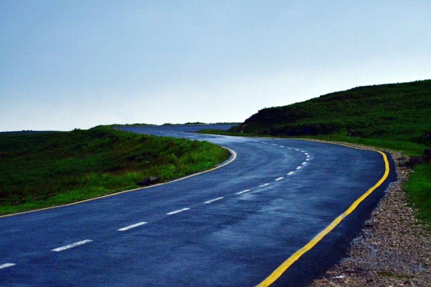 The Traveler - 2015 EyeEm Awards Lonelyplanet The Beauty Of Simplicity Roadscape Roads Rainy Days☔