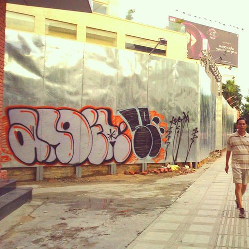 Morning! Another day another place. Anoir Sixte Graffitivietnam NC lazyguys