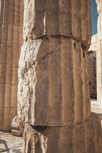Acropolis Athens Greece Acropolis History The Past Architecture Ancient Built Structure Architectural Column Ancient Civilization Sculpture Travel Destinations No People Art And Craft Craft Carving - Craft Product Representation Place Of Worship Solid Old Ruin Day Travel Stone Material Archaeology Carving