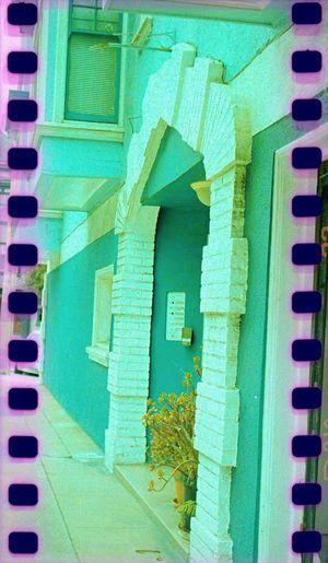 Lubitel 166+ Film No People Building Exterior Sprockets Koduckgirl House