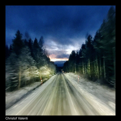 First snow of the year.. Winter On The Road Truck Sweden Truckerslife North Trucking Eye Em Around The World Pictureoftheday Work