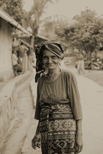 Portrait Looking At Camera Real People Adults Only One Person Outdoors One Man Only Senior Adult Adult Only Men Rural Scene People Day Cultures Smiling Face Oldwoman Smile Grany Human Interest Oldman Only Women Human Interest Indonesia EyeEmNewHere