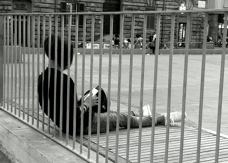 Sitting City Life Solitude People Photography Black And White Photography Street Photography