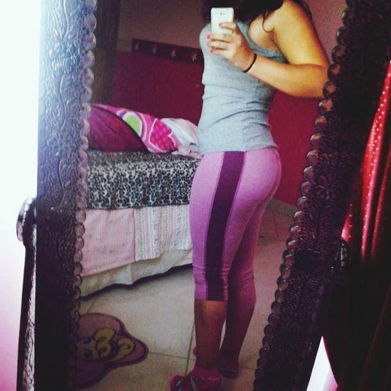 Gym Time Beautiful Girl