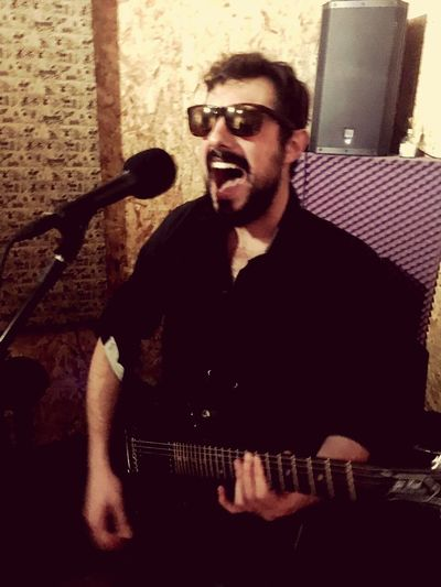 Rocknrollband Guitarist Backingvocals Borntobewild First Eyeem Photo