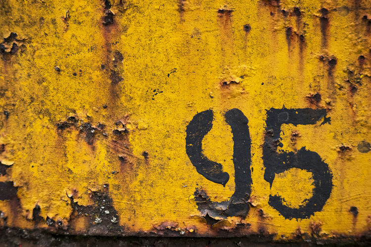 number 95 at old rusty minecart 95 Mine Car Painted Rust Wagon  Wall Background Backgrounds Fiftynineth Metal Mine Trolley Minecart Number Old Outdoors Plate Railway Rusty Shabby Steel Surface Yellow